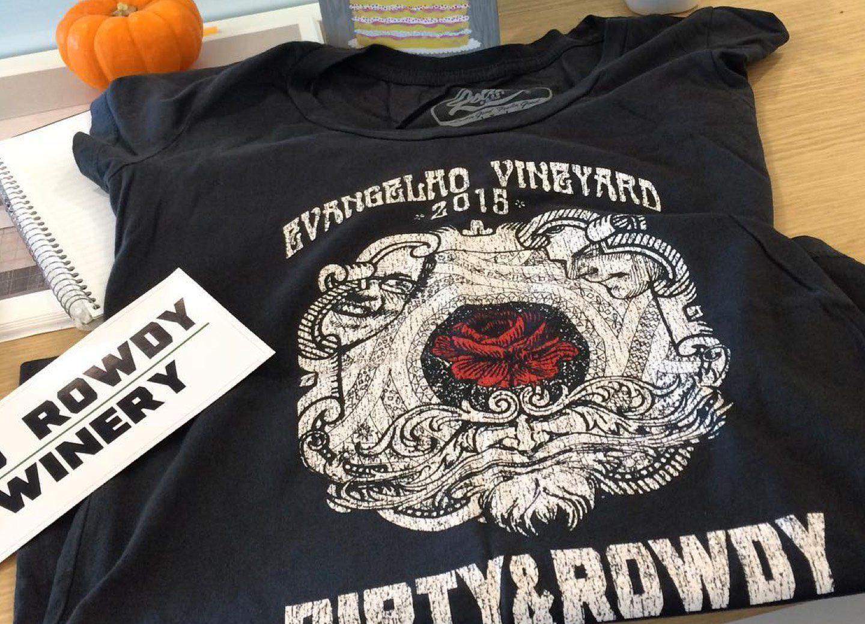 Dirty and Rowdy Custom T-shirt