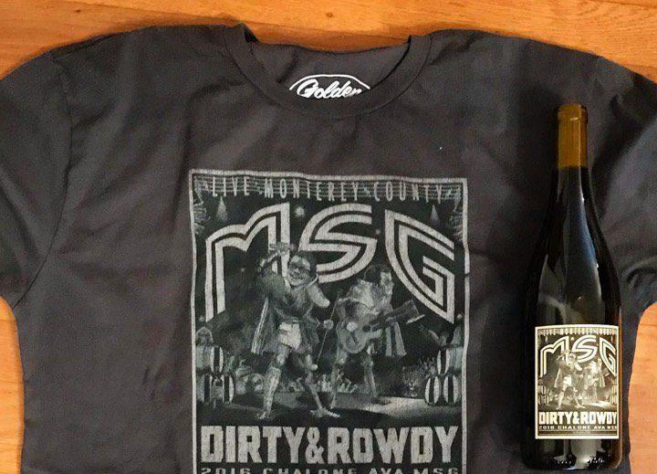 Dirty and Rowdy Custom Printed T-Shirt