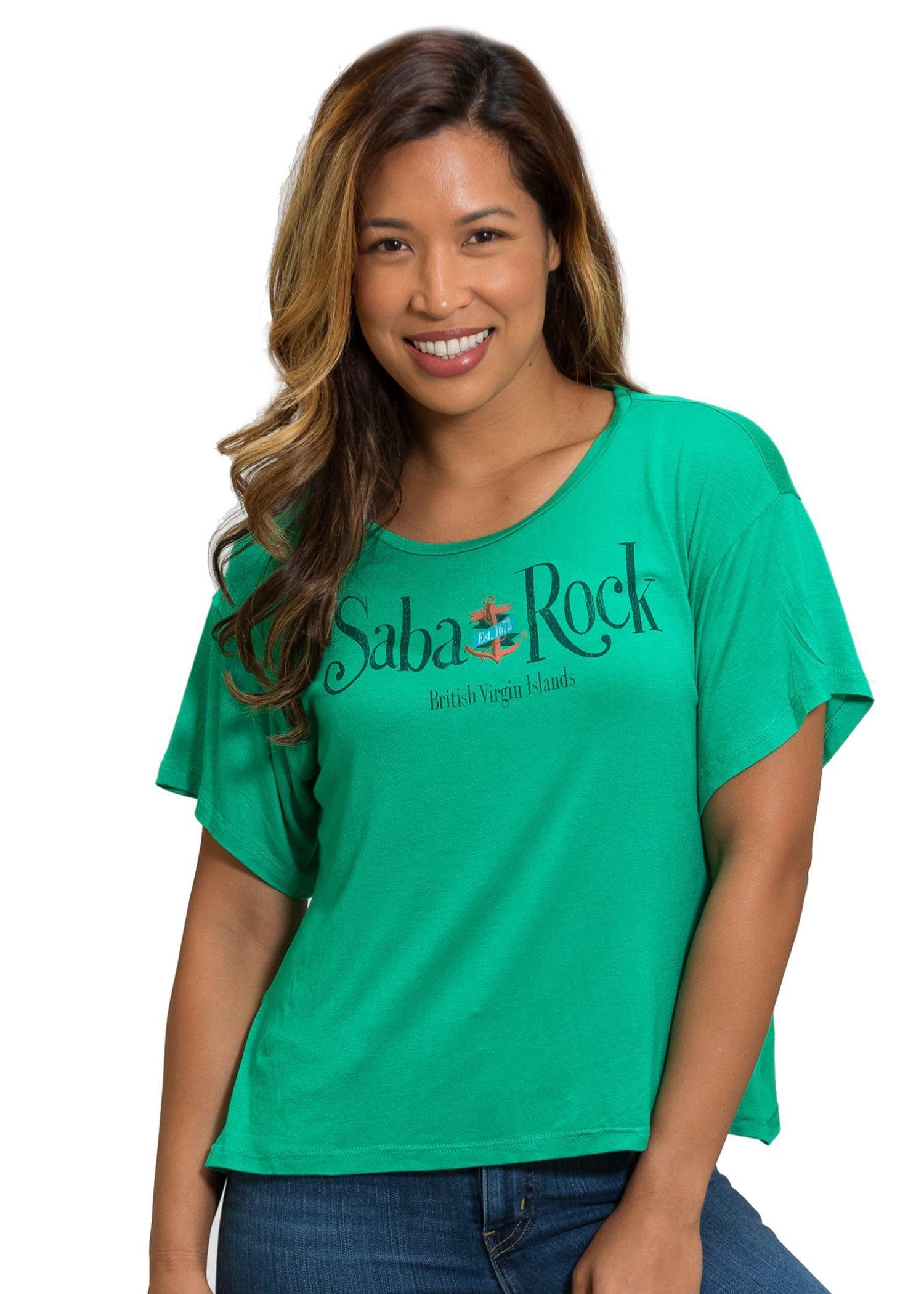 Women's Saba Rock Festival Crew T-Shirt