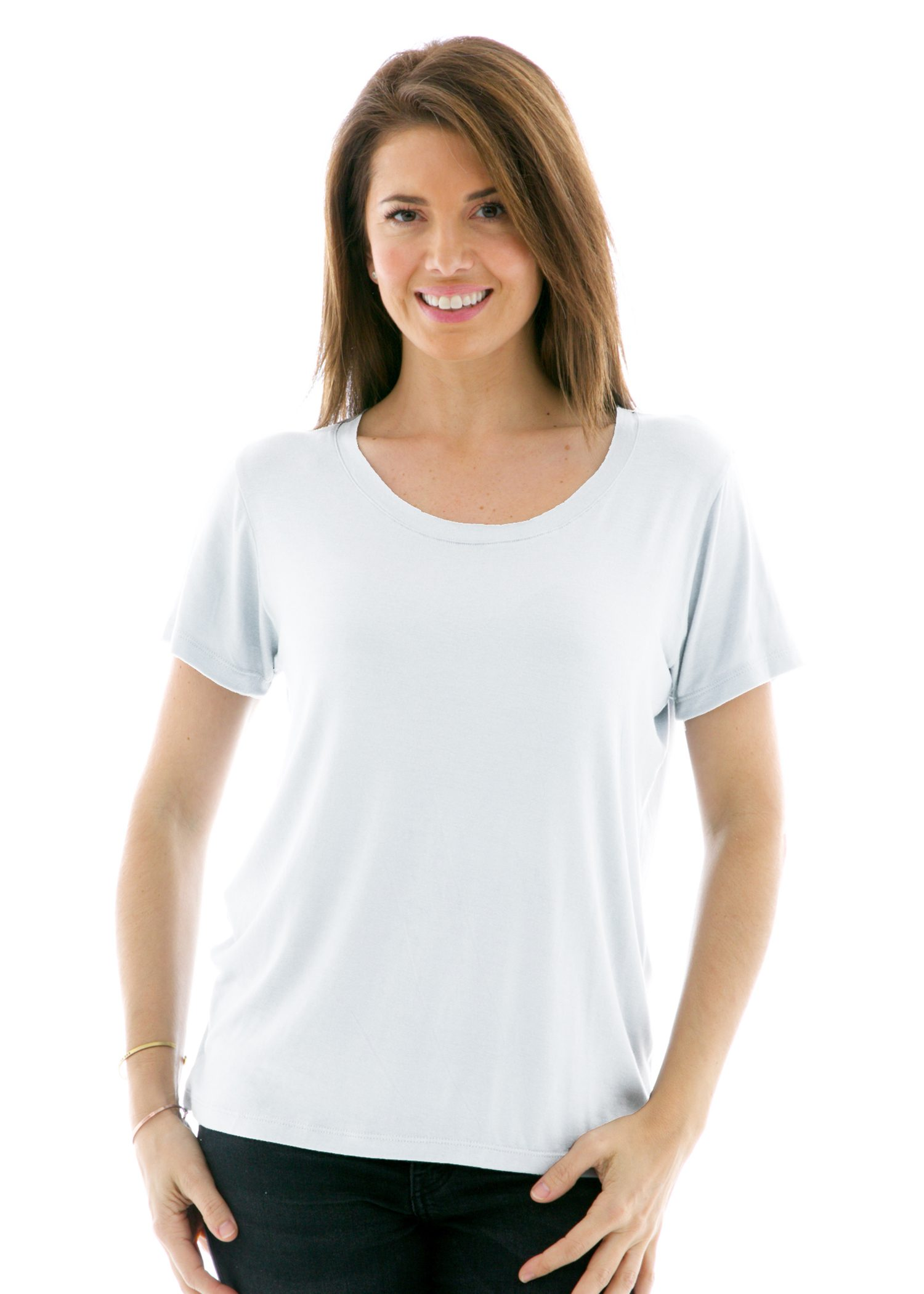 Women's Relaxed Crew Short Sleeve T-Shirt