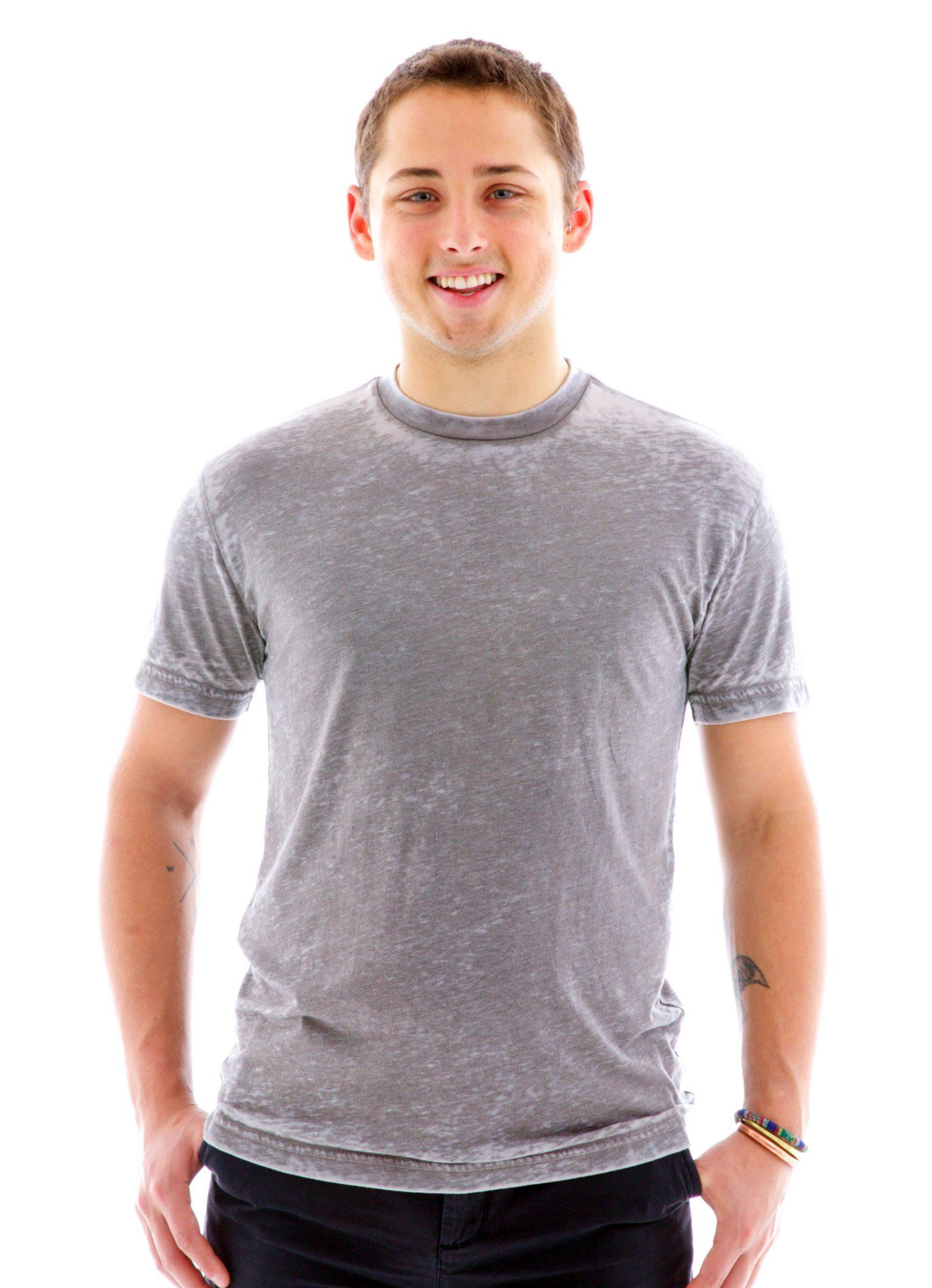 Burnout Crew Custom Printed T-Shirt