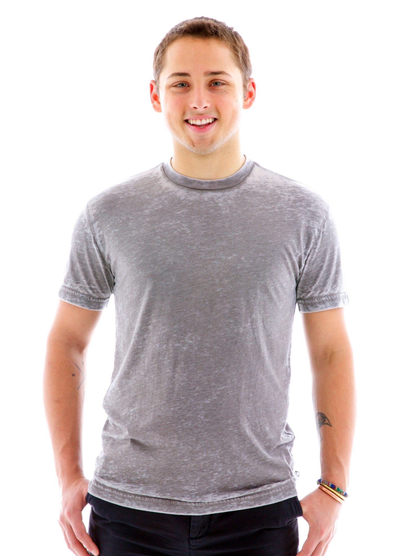 Burnout Crew Custom Printed T-Shirt for Men | Golden Goods