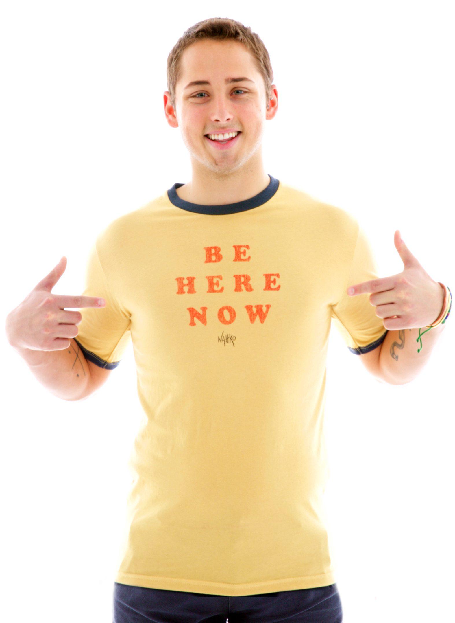 Ringer Crew Custom Printed T-Shirt for Men