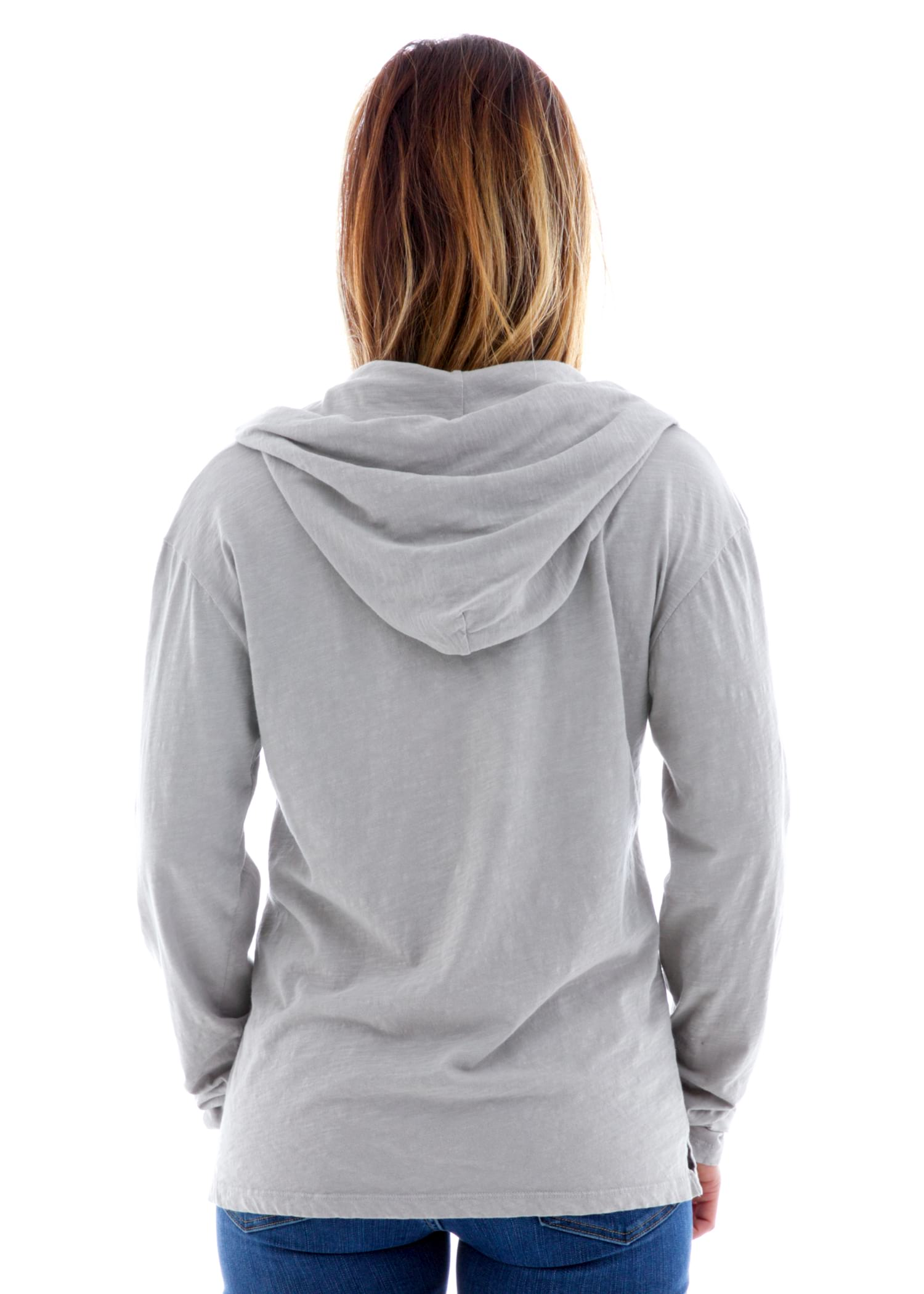 Slub Flight Hoodie Back View