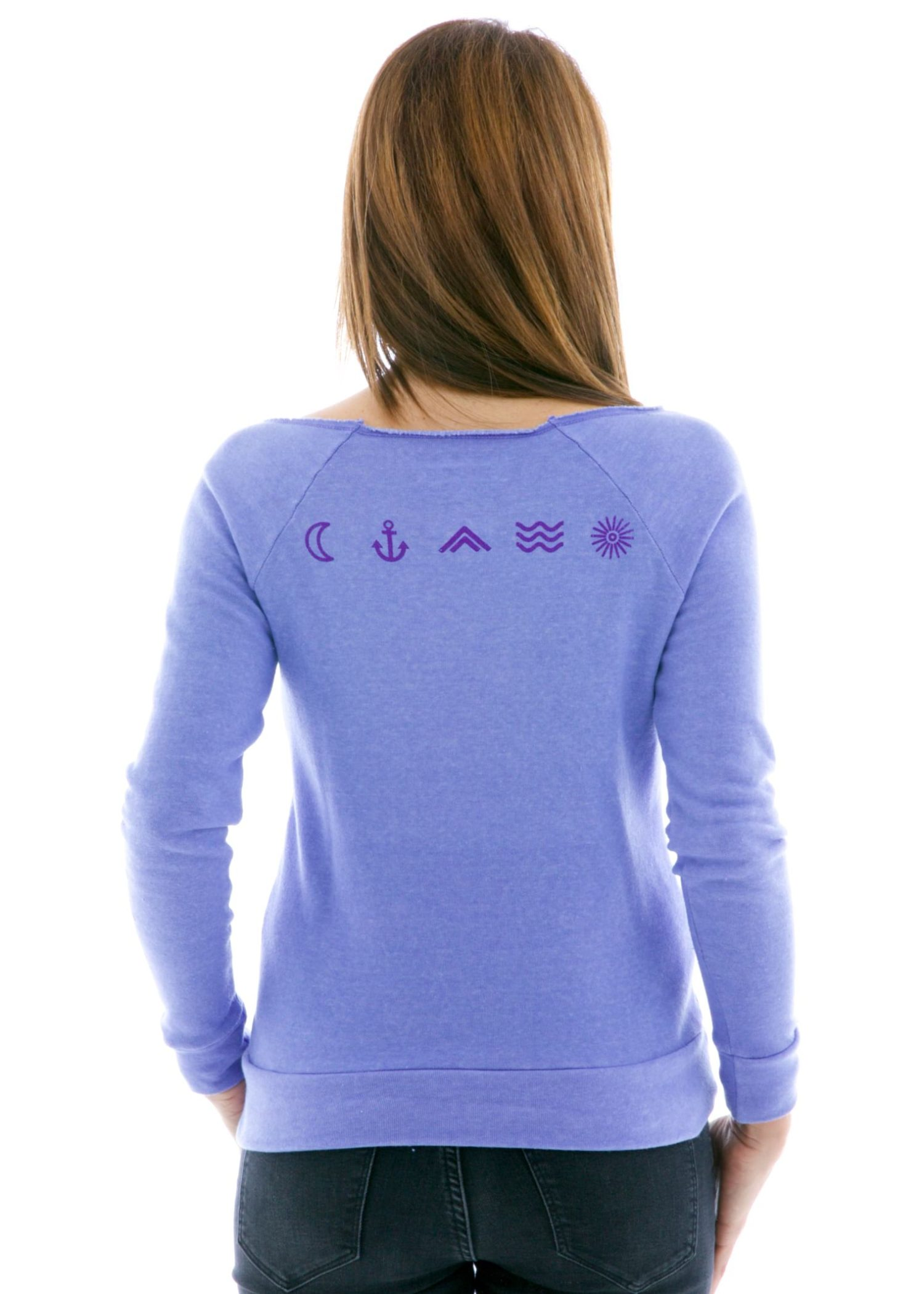 Pullover Hoodie Back View