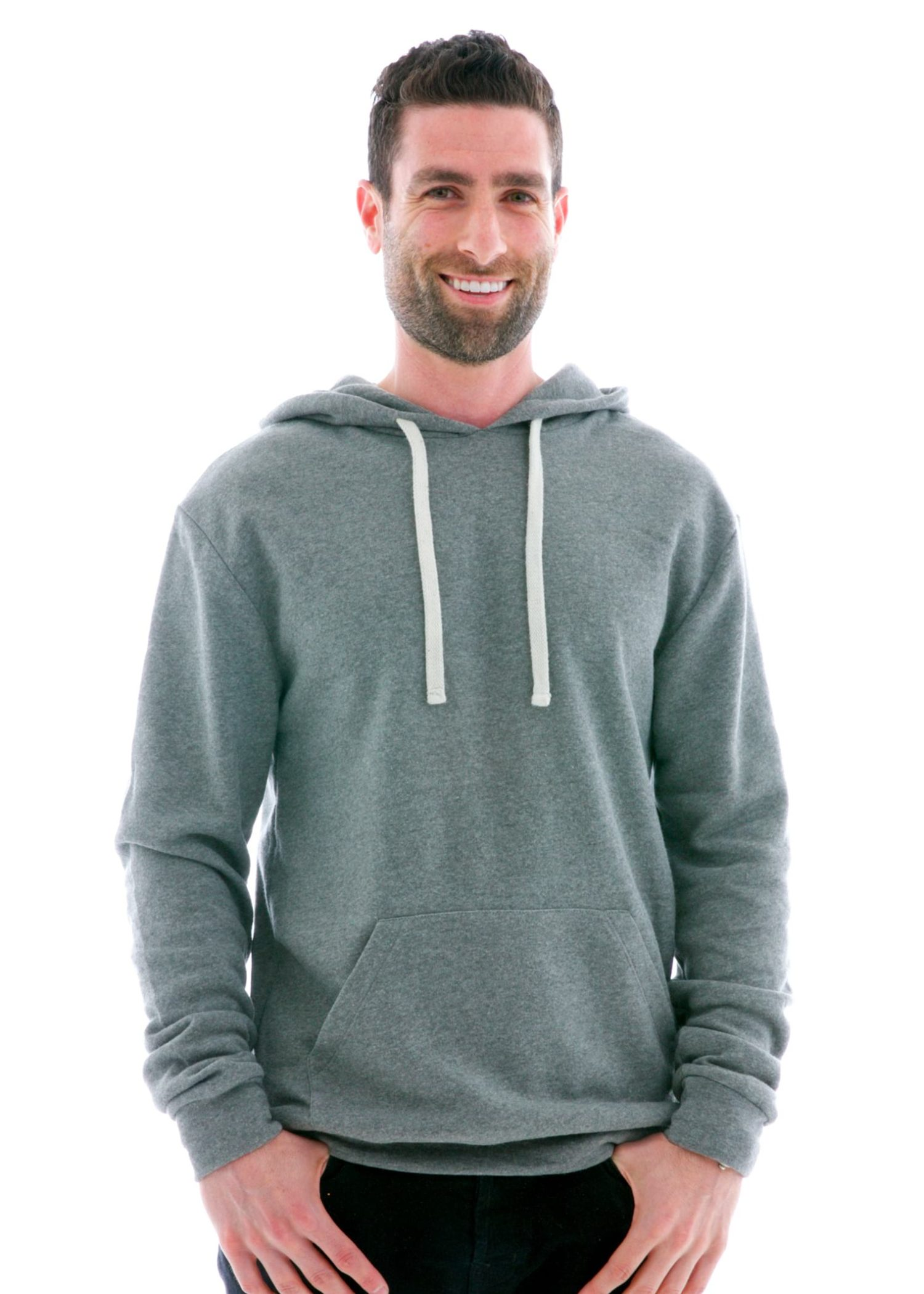 Plush Pullover Hoodie Front View