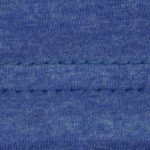 Royal blue heather fabric