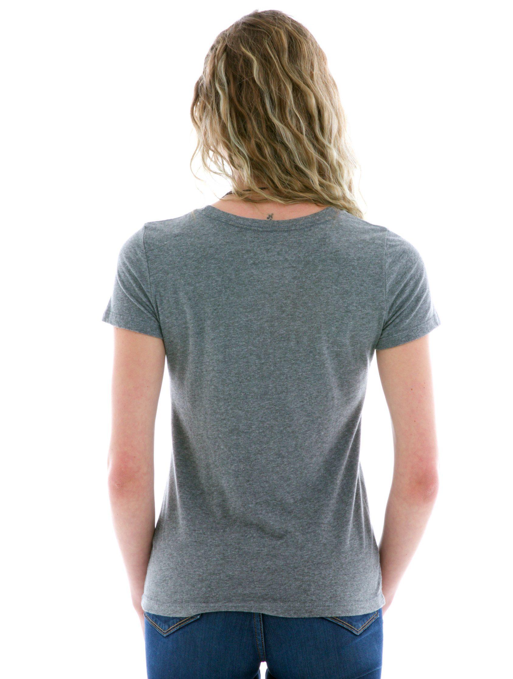 Women's Luscious Triblend Crew Short Sleeve T-Shirt