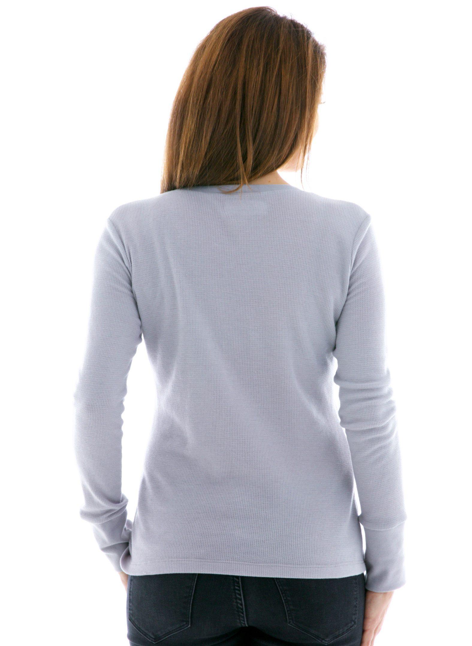 Women's Vintage Long Sleeve Thermal T-Shirt