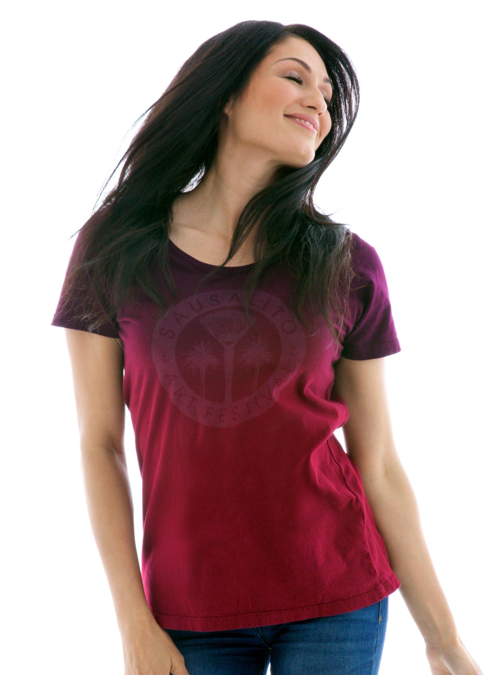 Women's Relaxed Jersey Scoop Short Sleeve T-Shirt