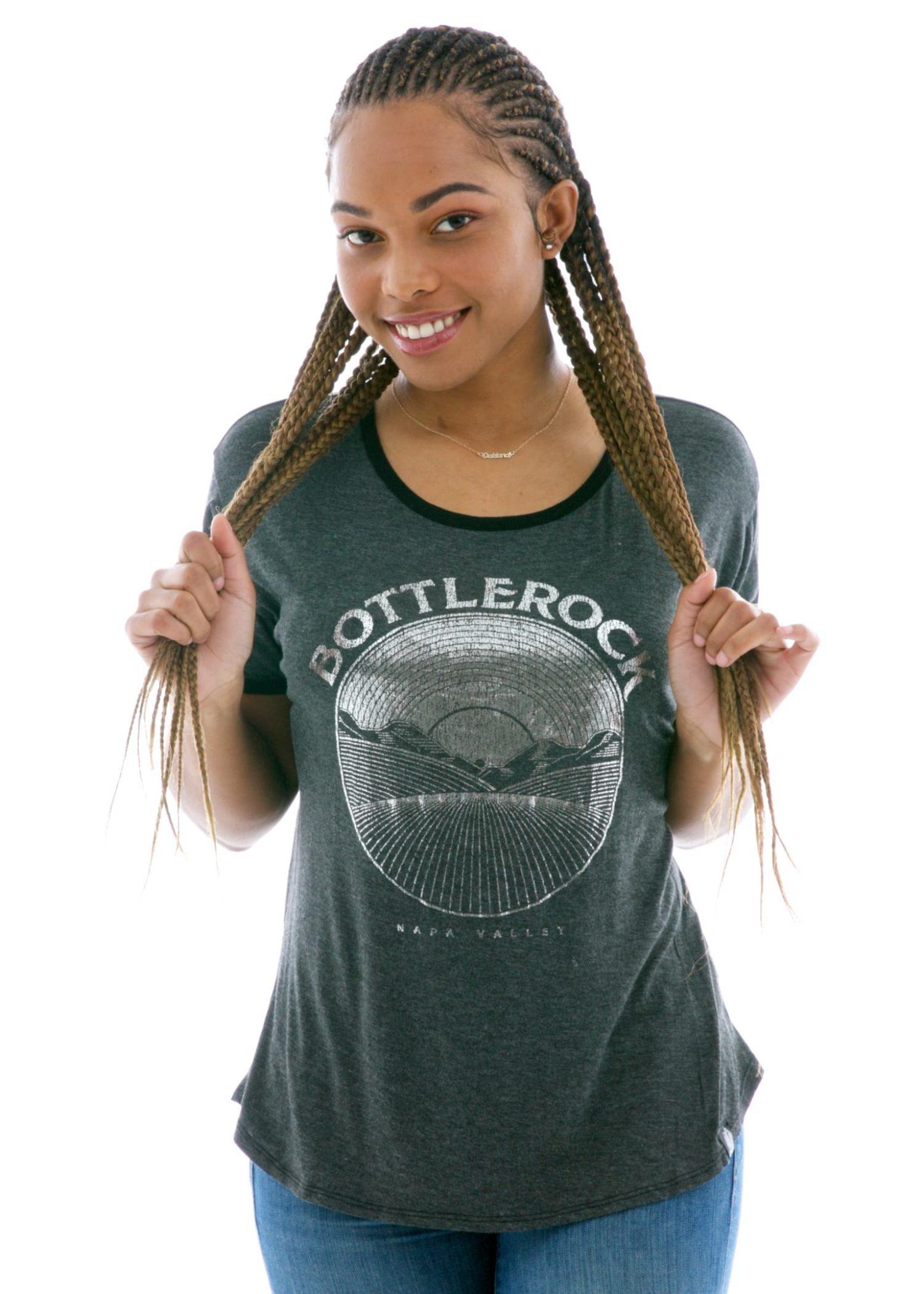 Vintage Luxe Ringer Custom Printed T-Shirt