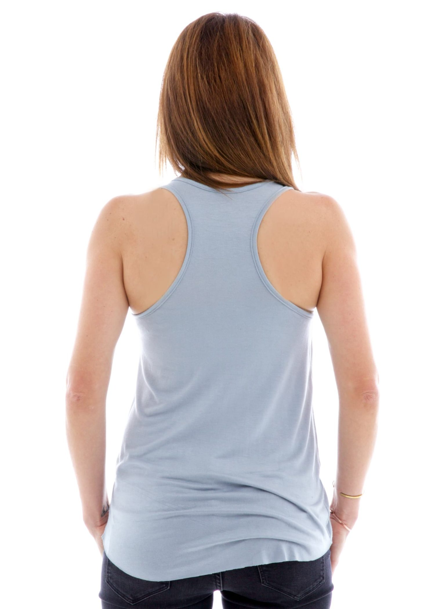 Racerback Tank Top Back View