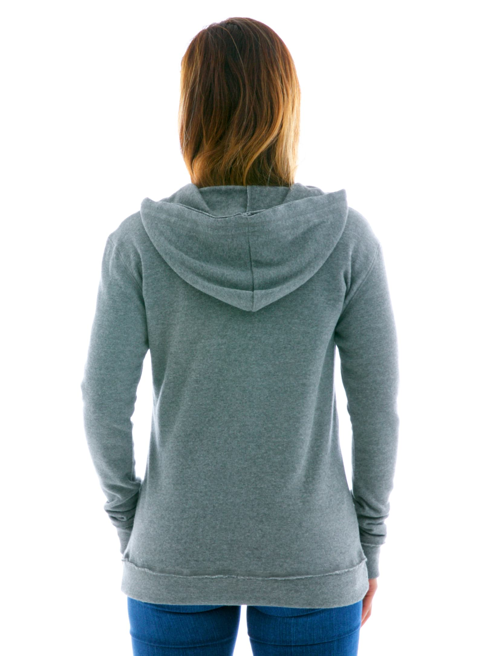 Yoga Scoop Pullover Hoodie Back View