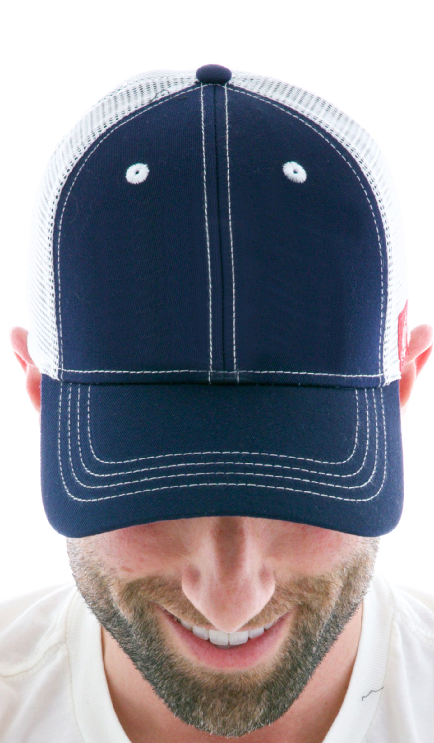 Custom Contrast Vintage Trucker Hats for Men and Women