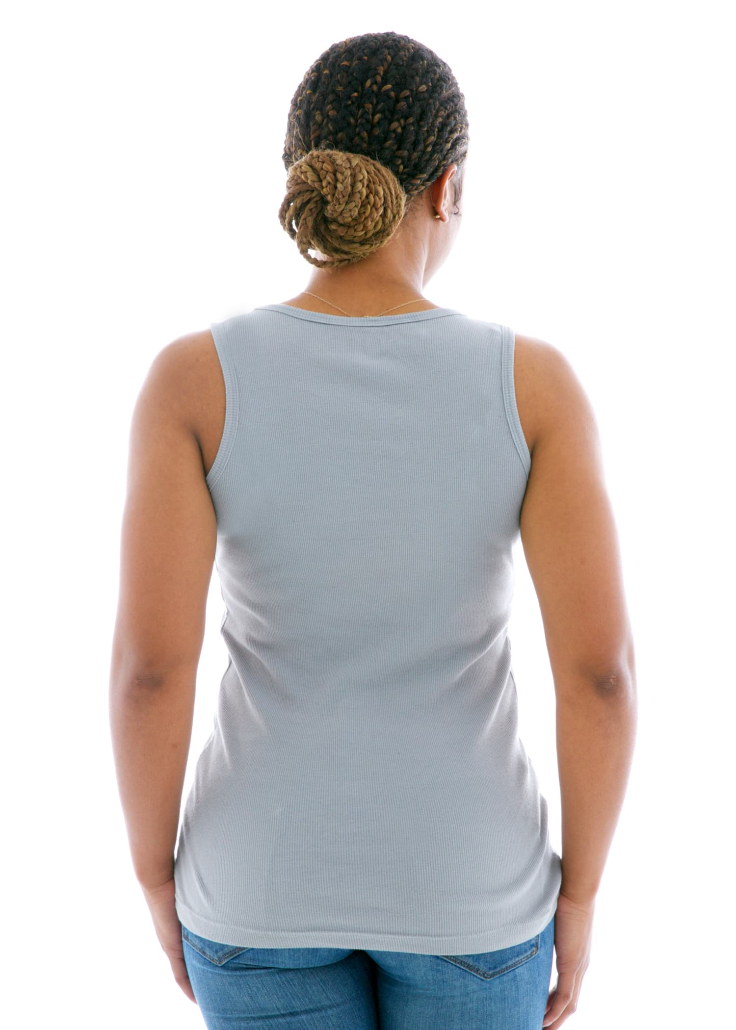 Skinny Tank Top Back View