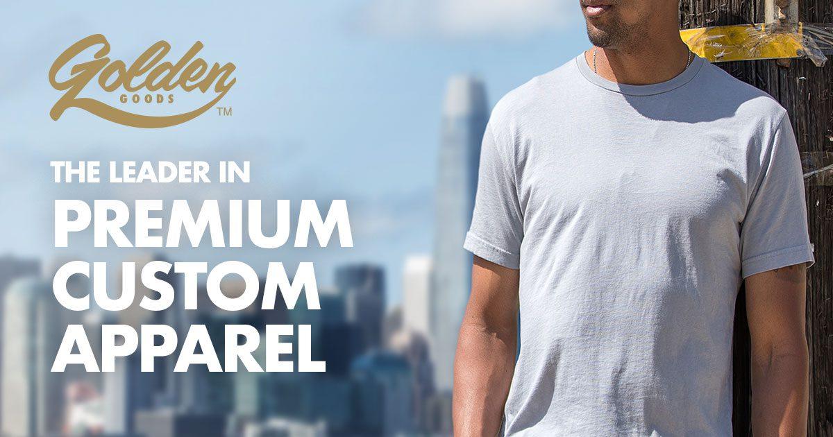 9abf644d Golden Goods USA: Custom T-Shirt & Branded Clothing Wholesaler
