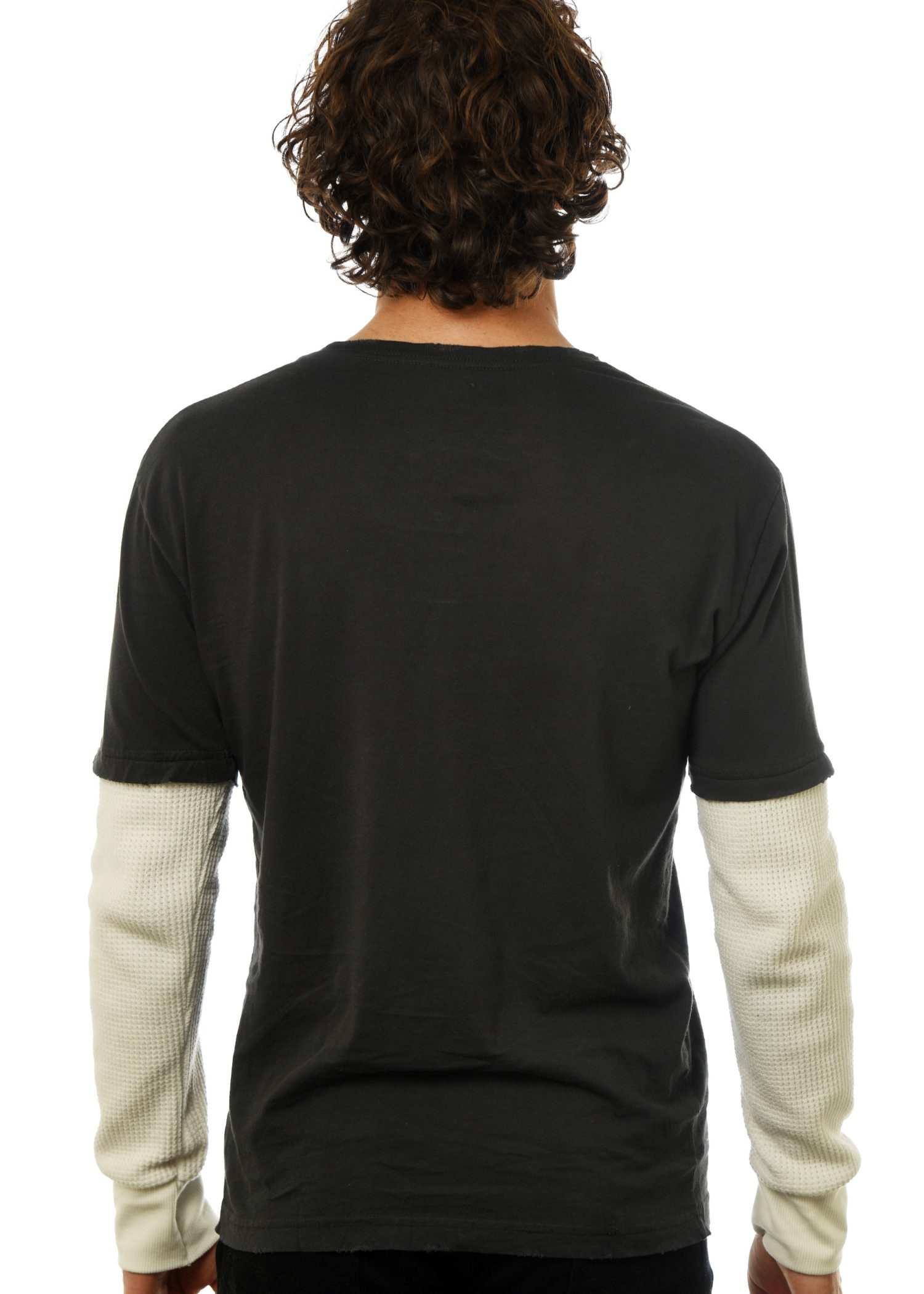 GG 303 -Men's Thermal Contrast 2fer back