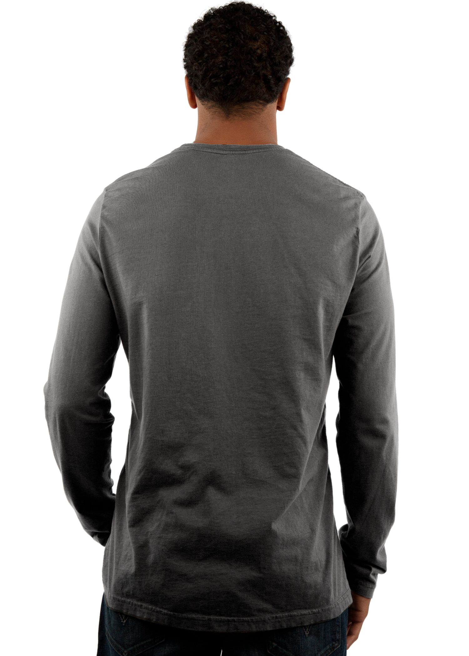 GG 701 Mens Select LS Crew back