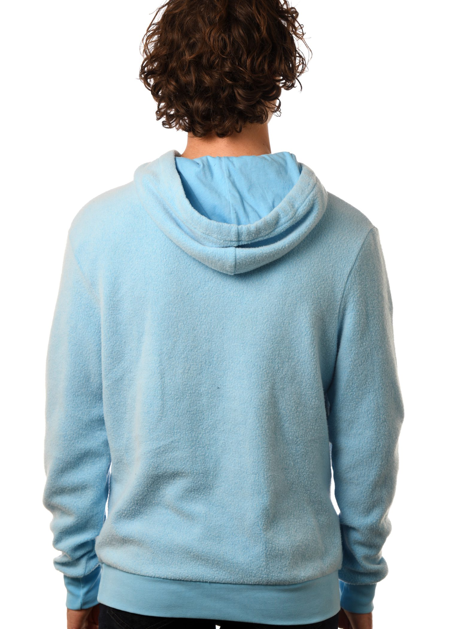 GG 797-F Unisex Furry Fleece Pullover back