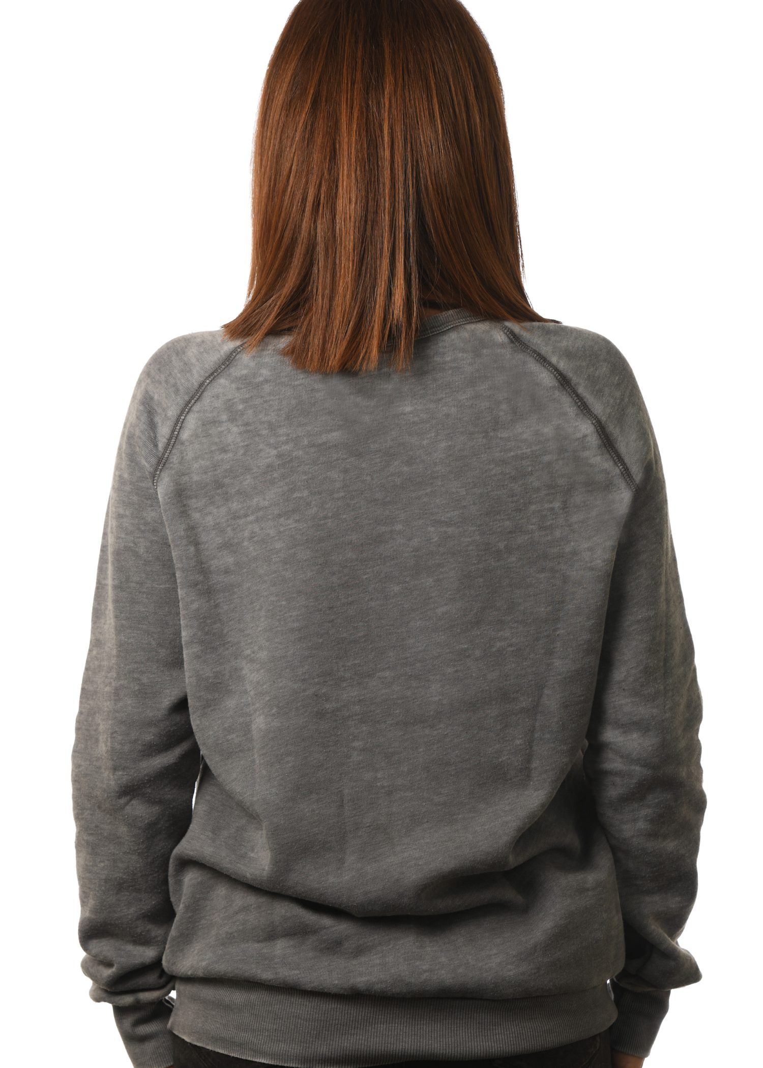 GG 798-B Unisex 'Wornwash' Old School Fleece Raglan Back 1