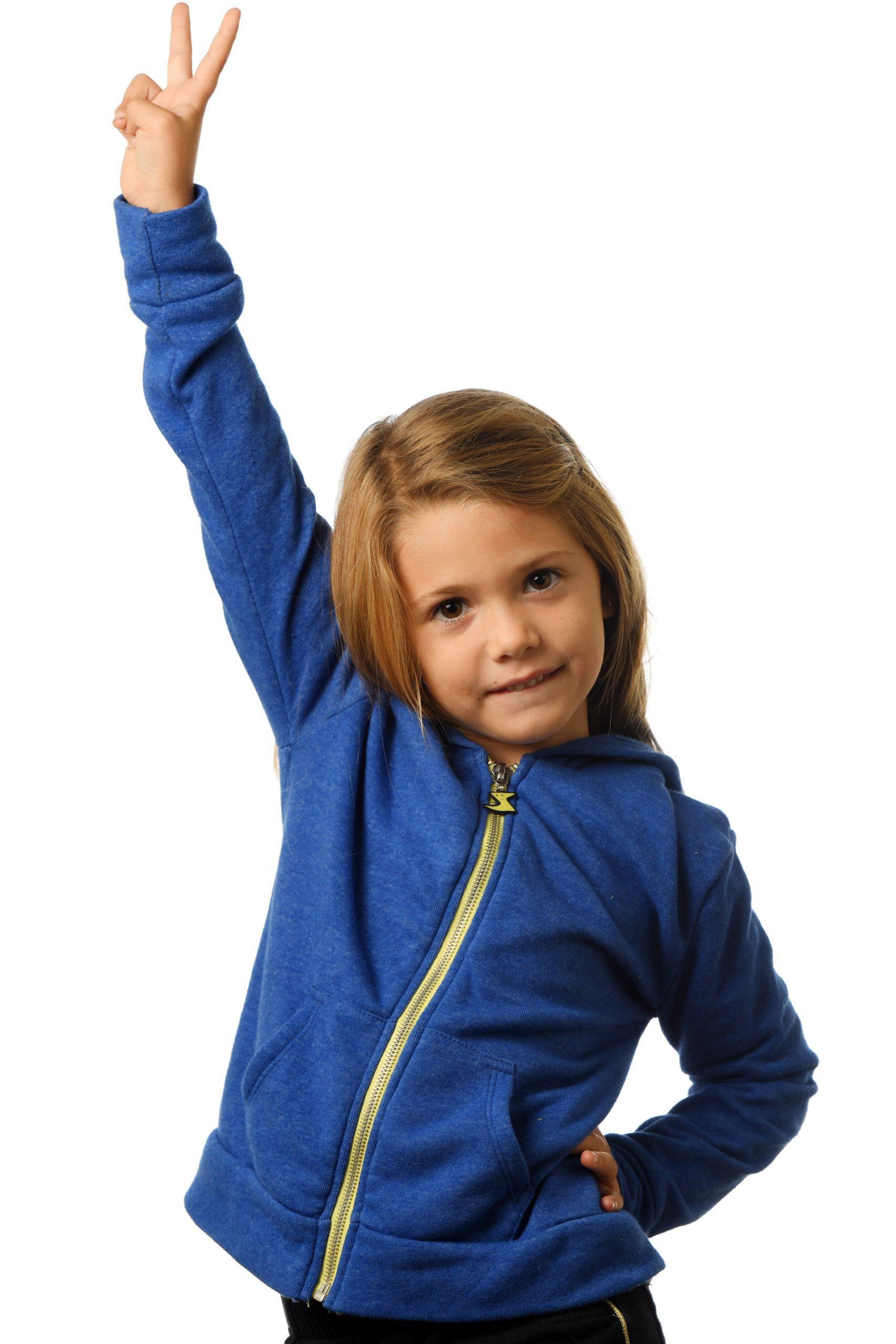 GG 899- Kids Zip hoodie front 3