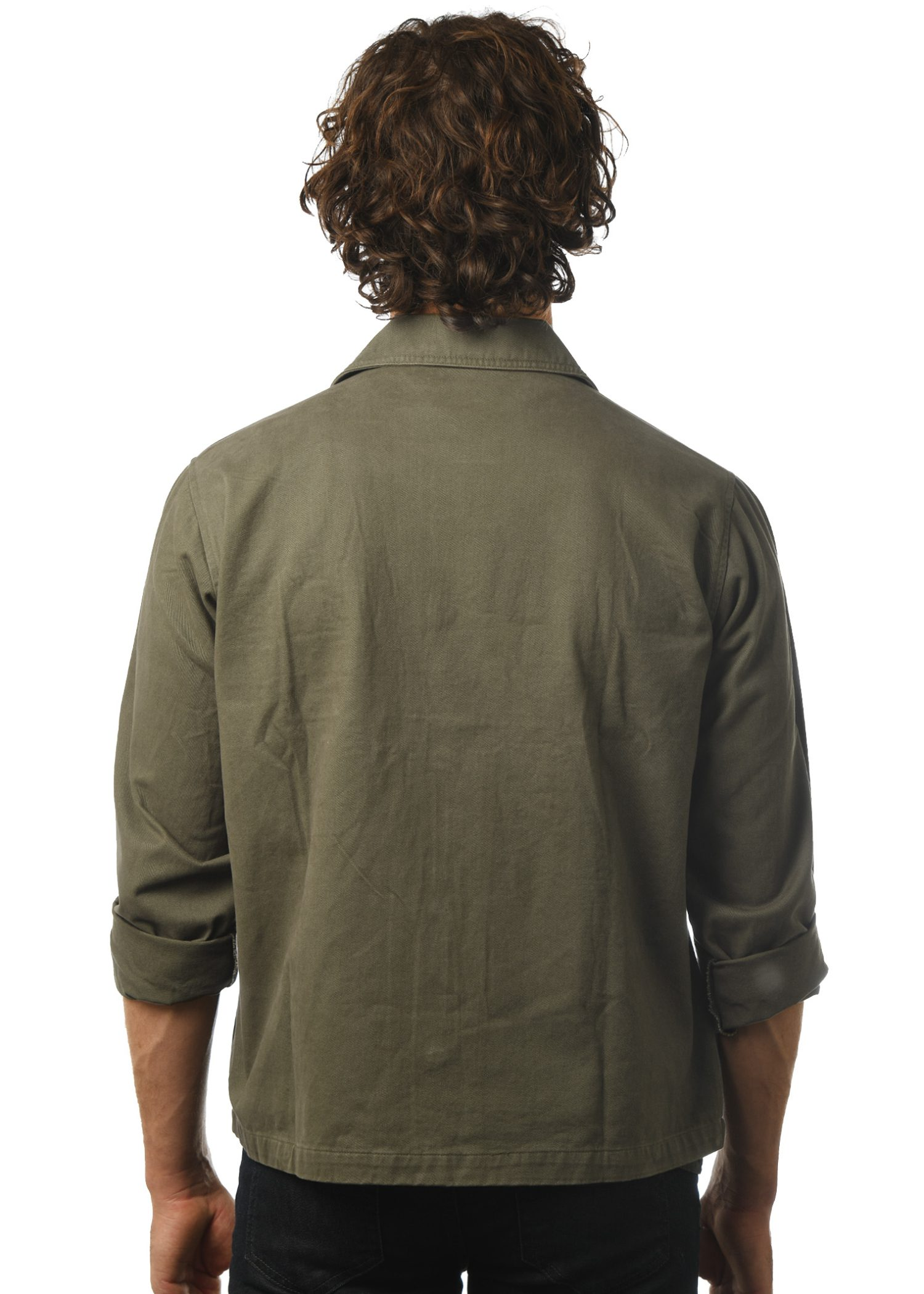 GG 910 Military Jacket-Back