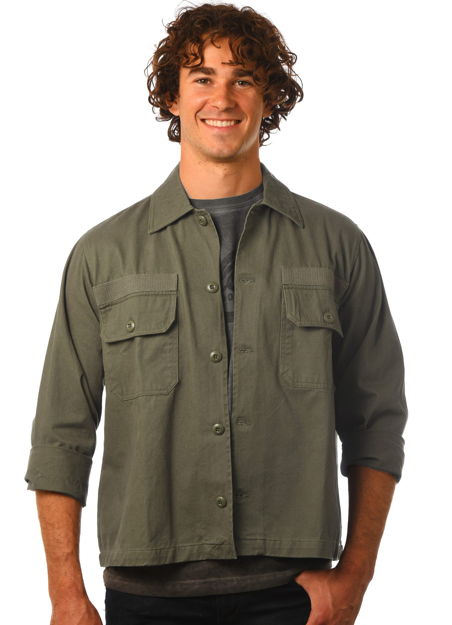 GG 910 Military Jacket-Front
