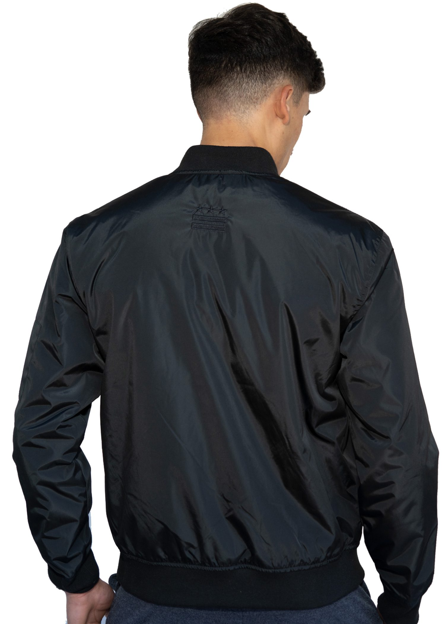 GG 900 BLACK BLK BOMBER- PLAIN